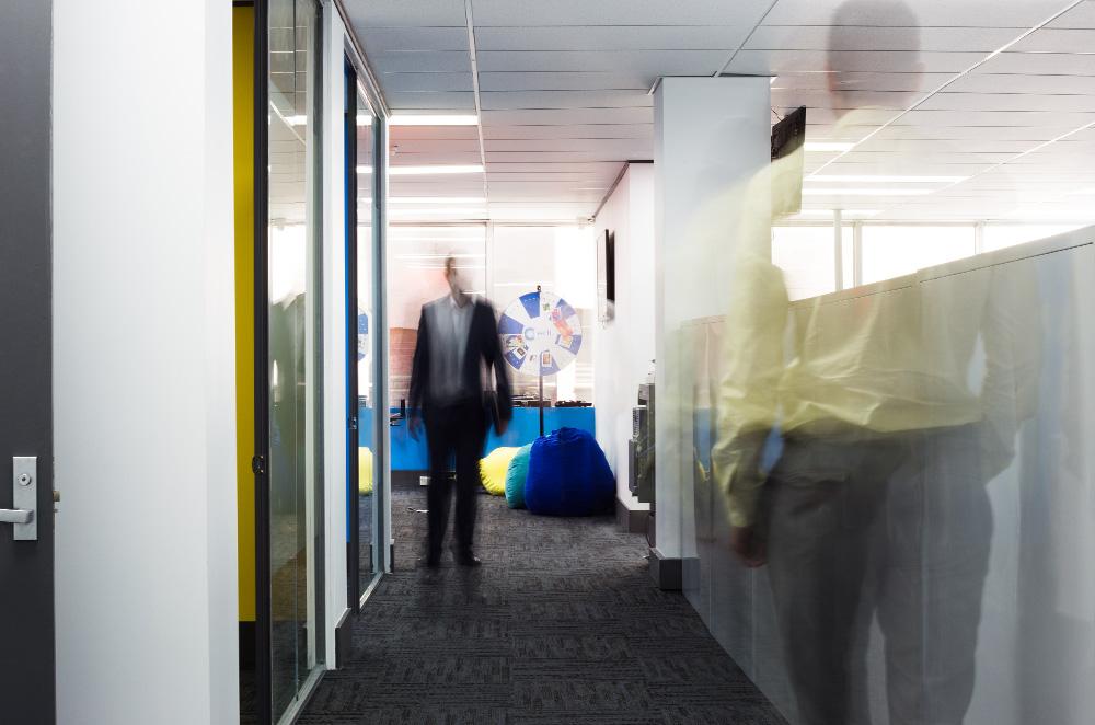 Office corridor of EDT Global
