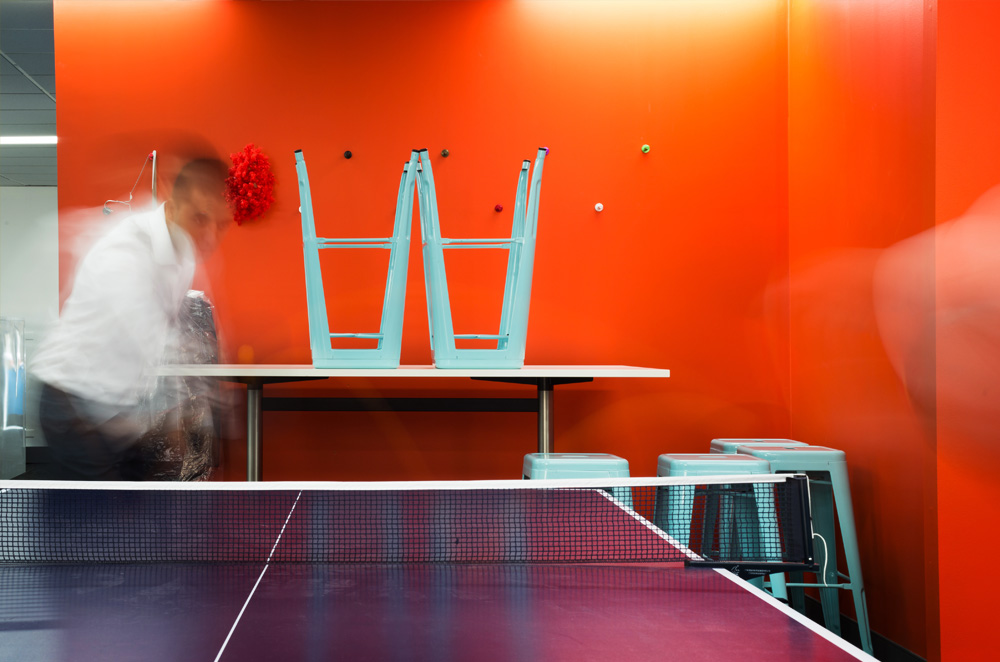 Join EDT we have table tennis!